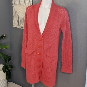 Anthropologie Sparrow Long Cardigan Sweater